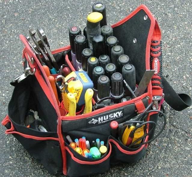 Hur man organiserar en verktygsväska