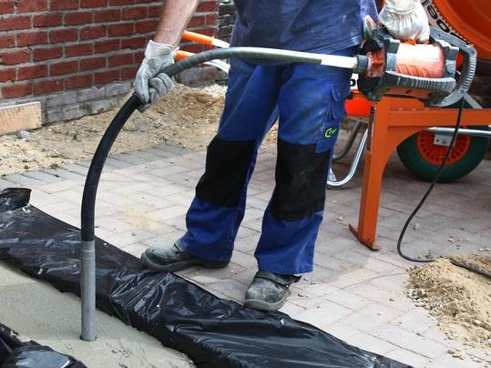 test av betongvibrator