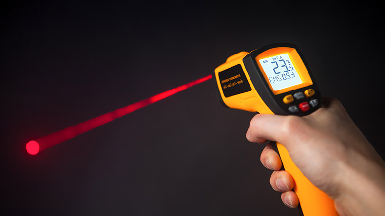 Hur en IR termometer fungerar