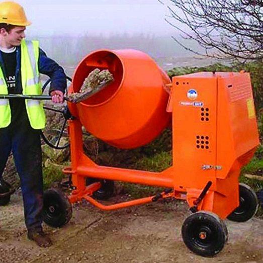 Hur man använder en betongblandare
