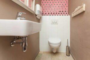 Liten toalettstol
